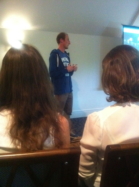 GB Olympic marathon runner Scott Overall talks about his experiences at Write This Run