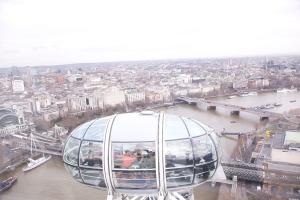 Yoga on the London Eye