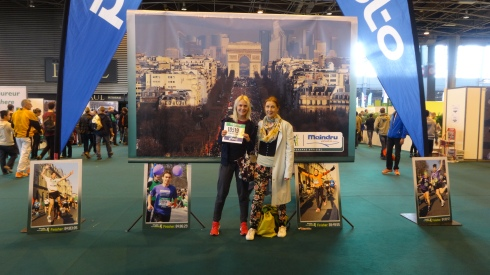 Mum and I at the Paris Expo
