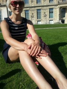 Me in Jardin des Tuilleries