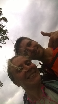 Marathon Man UK (Rob) and I in selfie mode