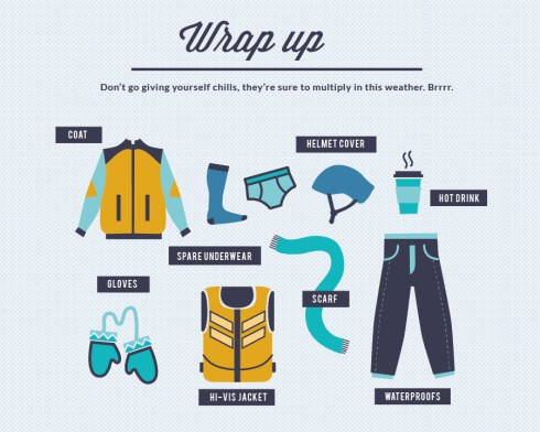 Wrap up this winter on your bike