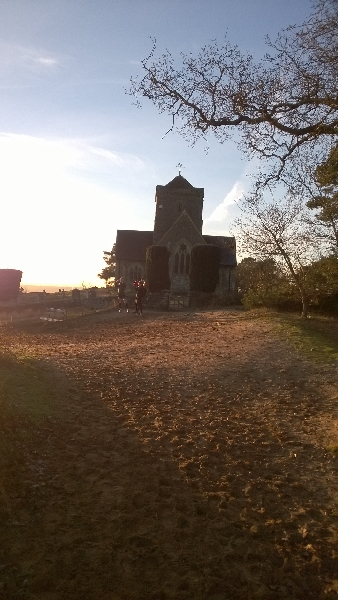 A church with a view
