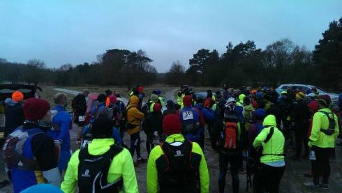 A cold and chilly start of the Peddars Way Ultra (c)  Matthew Hearne
