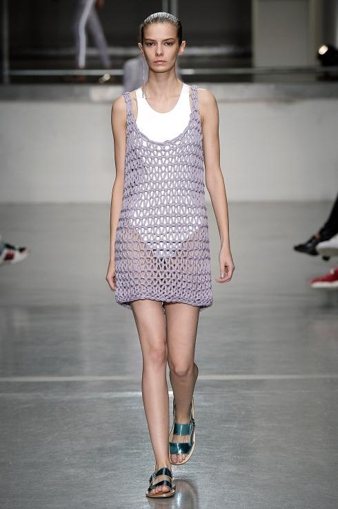 Dress over t-shirt Richard Nicholl for Sweaty Betty