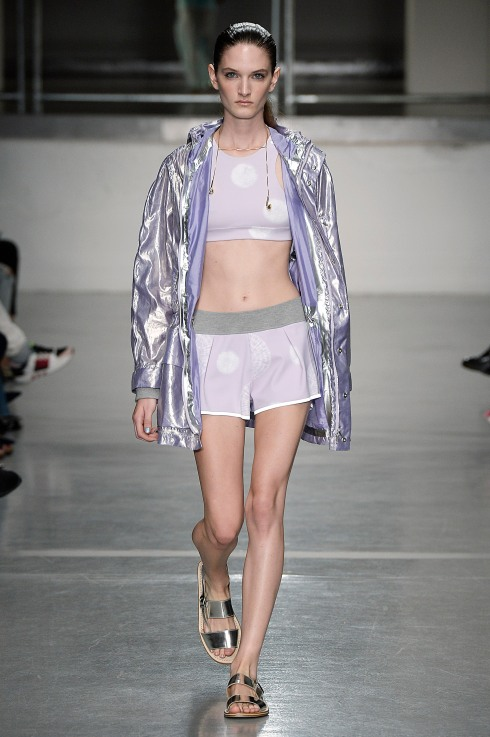 Richard Nicholl shorts, bra and