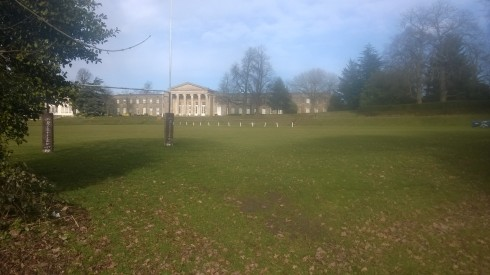 The grounds of Mill Hill school