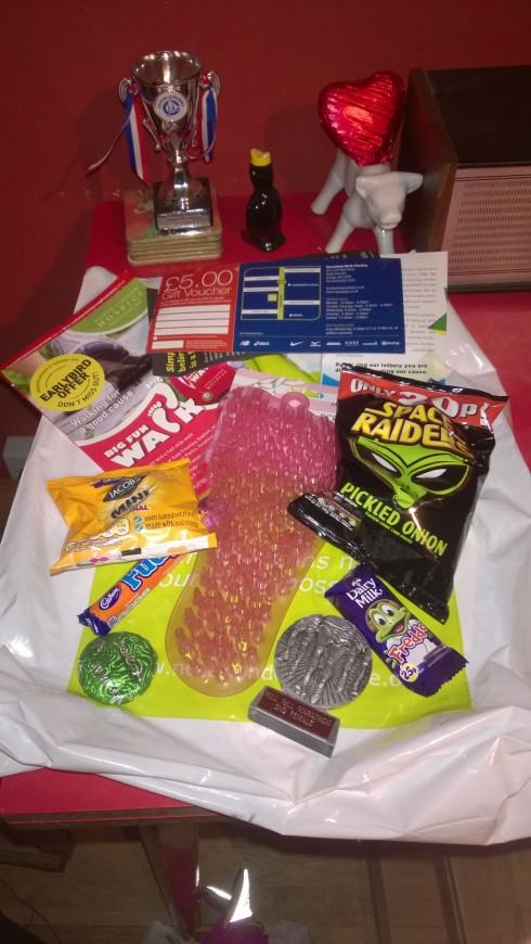 Fantastic goody bag treats