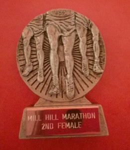 Second lady trophy